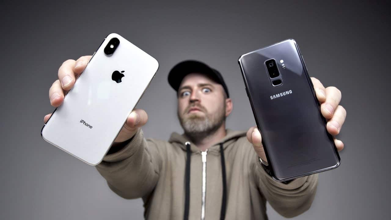 Is Samsung Galaxy S9 Faster Than The iPhone X…