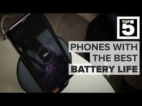 Phones with the best battery life 2018