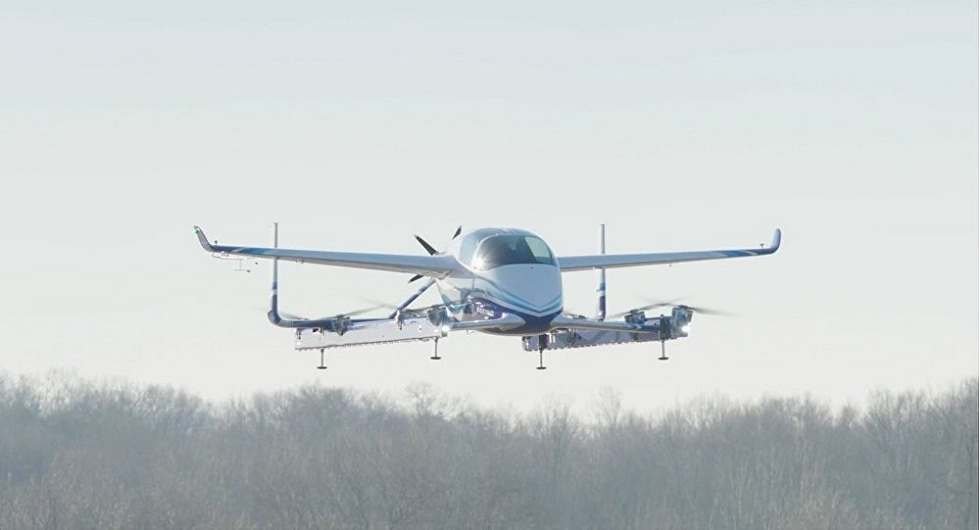 Boeing's self-flying Air Machine! Successful Test Flight