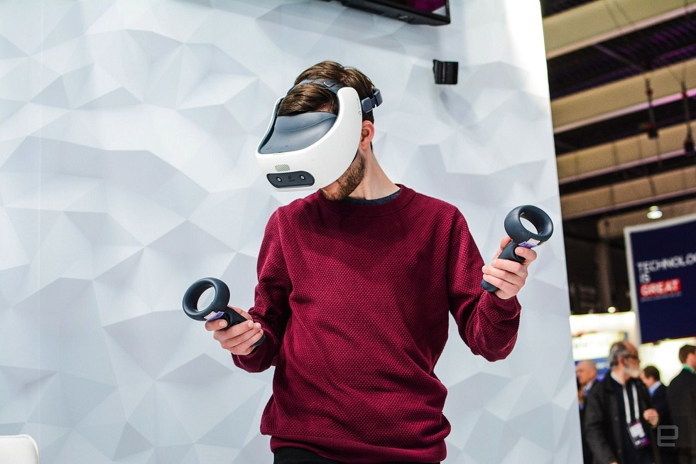 The Vive Focus Plus from HTC! A new VR Headset
