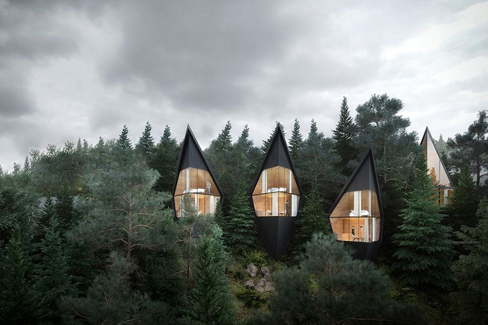 Unique Conceptual Living! Dolomite TreeHouse