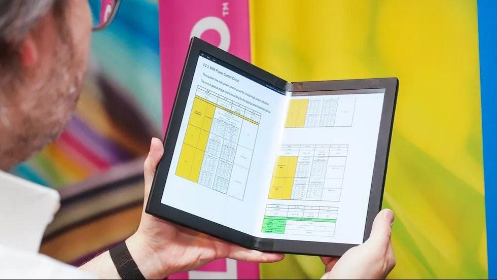 Lenovo Foldable ThinkPad X1 Laptop! The Future