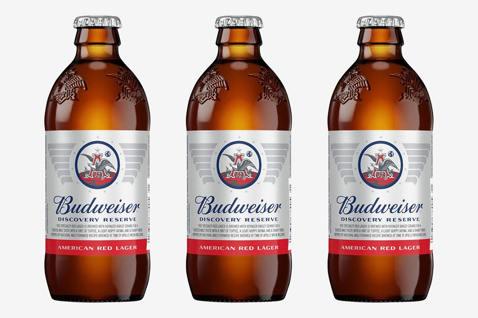 Budweiser Discovery Reserve American Red Lager!