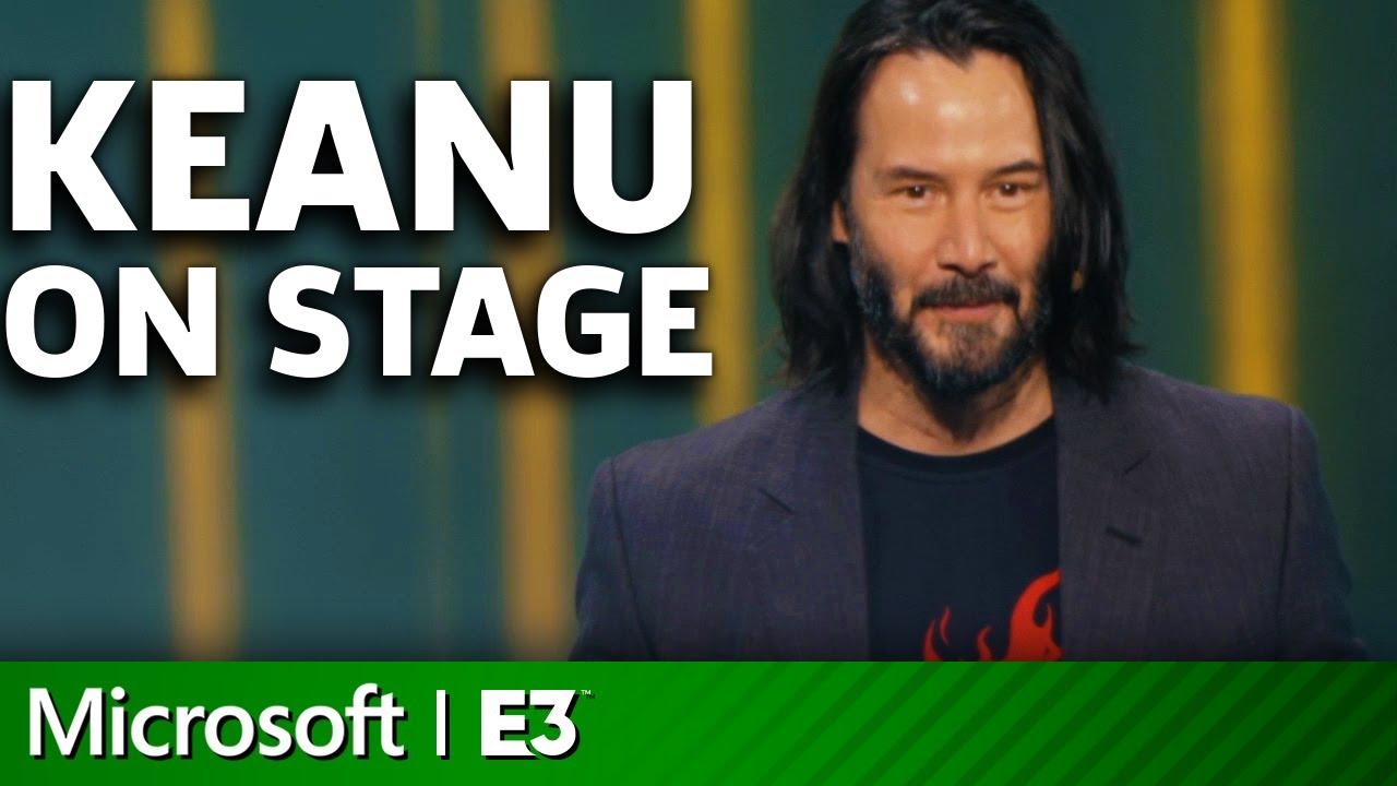 Cyberpunk 2077! Keanu Reeves Introduced