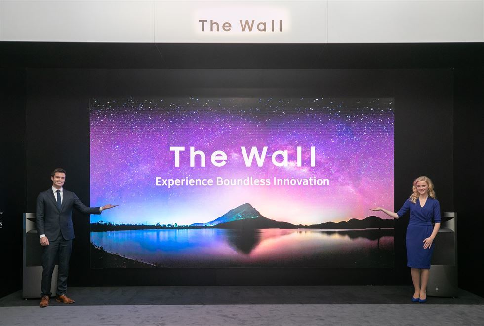 Samsung's The Wall Luxury is a 292-inch 8K Monster TV