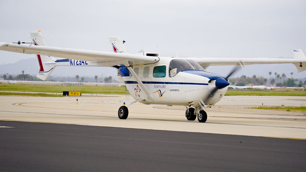 Ampaire 337 Plane! First Electric Test Plane