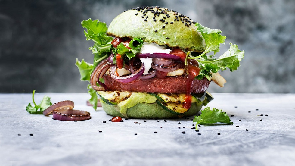 Nestle Plant-Based Meat Burger! Awesome Burger