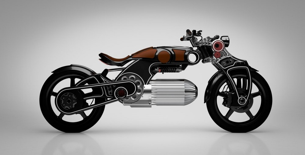 Curtiss Hades Electric Motorcycle! Powerful and Unique