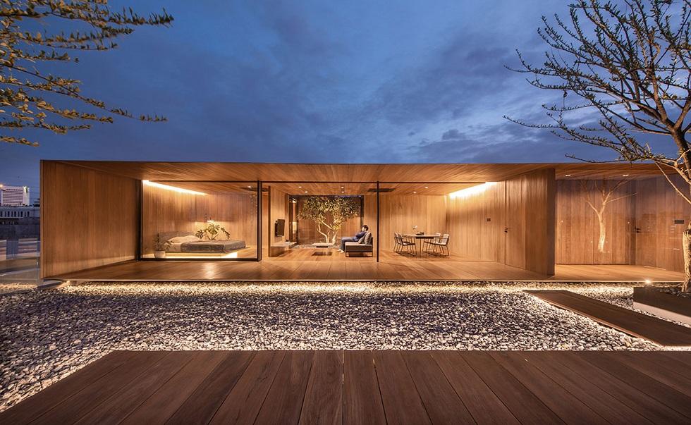 Borderless Wooden Home! Amazing Architect