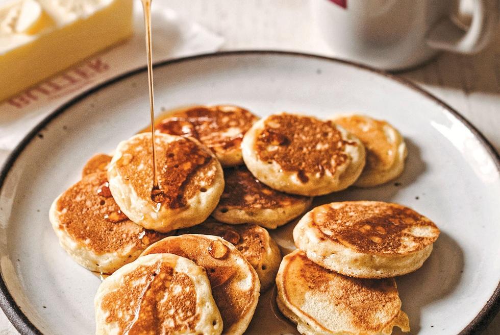 Silver Dollar Pancakes Recipe! Handy an Tasty