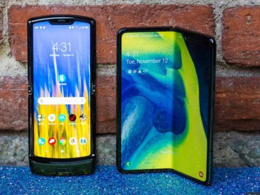 Samsung Galaxy Fold vs Motorola Razr 2019