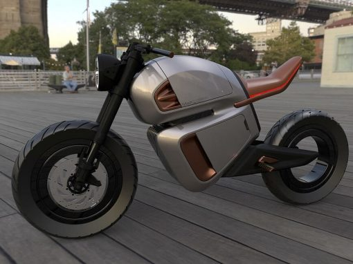Nawa Hybrid e-Bike Uses Next-Gen Ultracapacitor for Boost Range