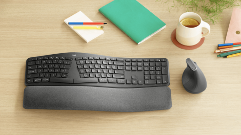 Logitech Ergo K860 Keyboard is Designed for Your Wrists