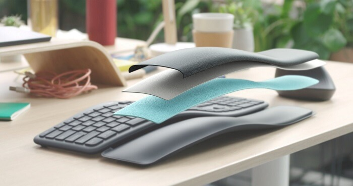 Logitech latest keyboard is designed for wrists protection