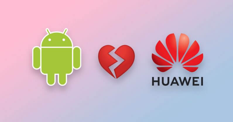 Google stops its services for Huawei
