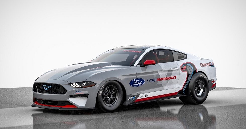 Ford Mustang Cobra Jet 1400 Is A Silent 8-Second EV Drag Racer
