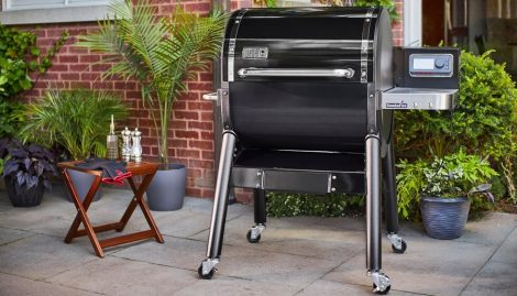 Weber SmokeFire Pellet Grill: Cook Where You Want