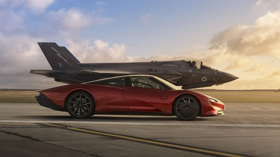 F-35 vs McLaren Speedtail: Who's Faster?