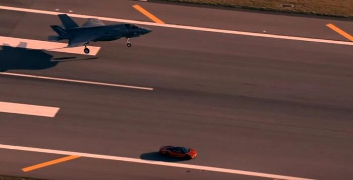 F-35 vs McLaren Speedtail