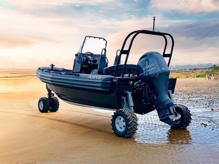 ASIS Professional Amphibious Boats
