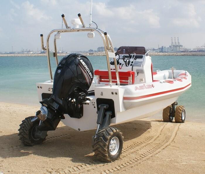 Recreational Amphibious Boats
