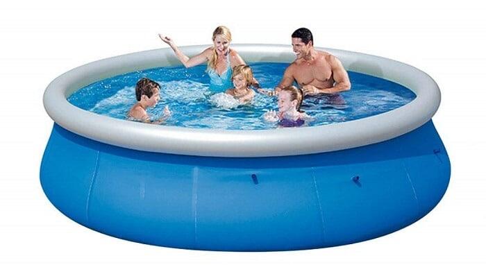 Lenakrui 15ft x 36in Quick Set Backyard Inflatable Pool