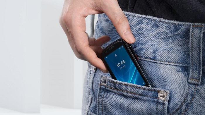 Tiny smartphones