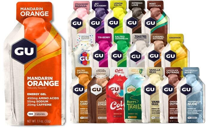 GU Energy Original Sports Nutrition Gel - Best Energy Gels