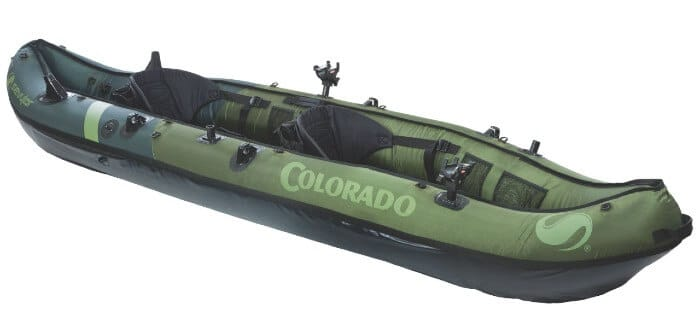 Sevylor Coleman Colorado 2-Person Fishing Inflatable Kayak