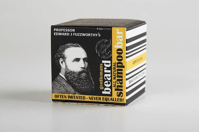 Professor Fuzzworthy's Beard Shampoo with All Natural Oils