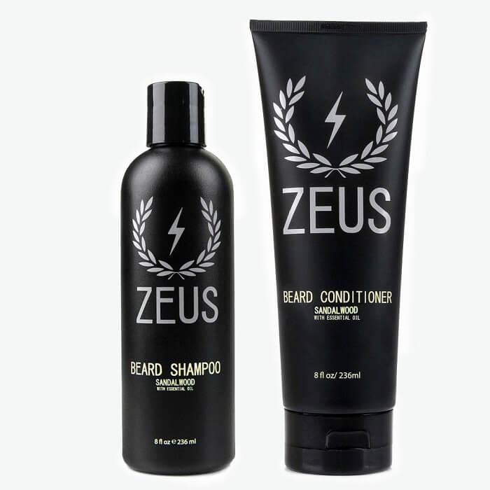 ZEUS Beard Shampoo and Wash - Best Beard Shampoos for Men