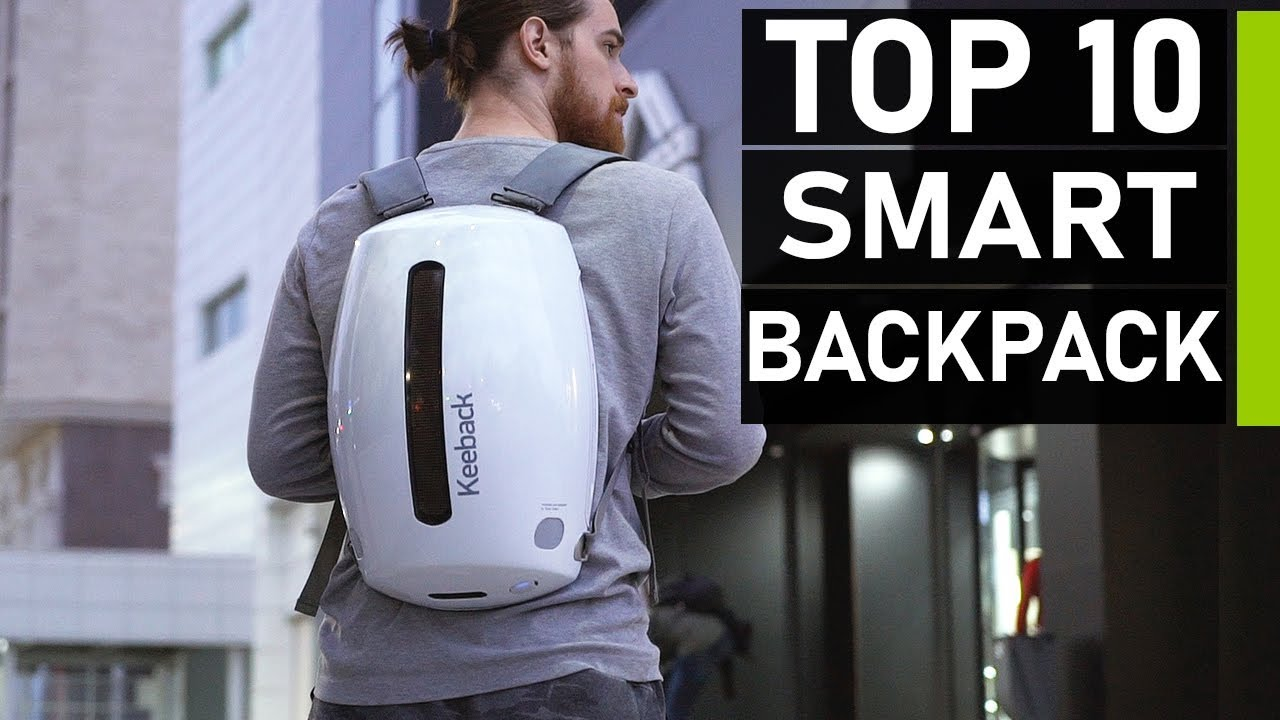 Top 10 Smart Backpacks for Travel in 2020