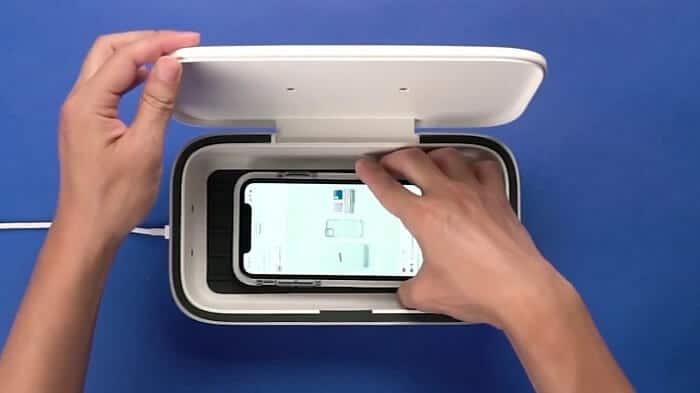 Smartphones sanitizer