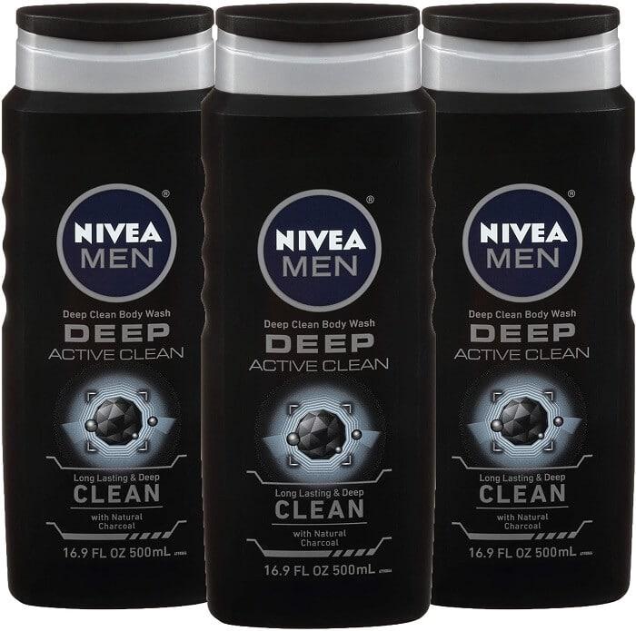 NIVEA Men DEEP Active Clean Body Wash