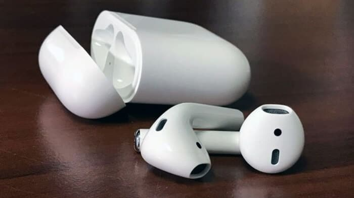 New AirPods with Wired Charging Case