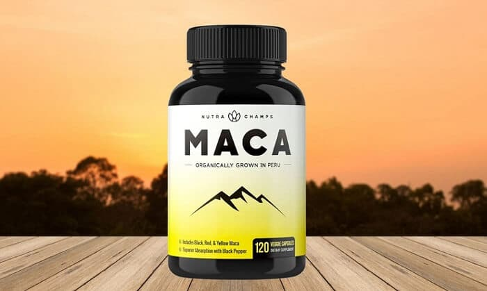 Nutra Champs Organic Maca Root Energy Pills