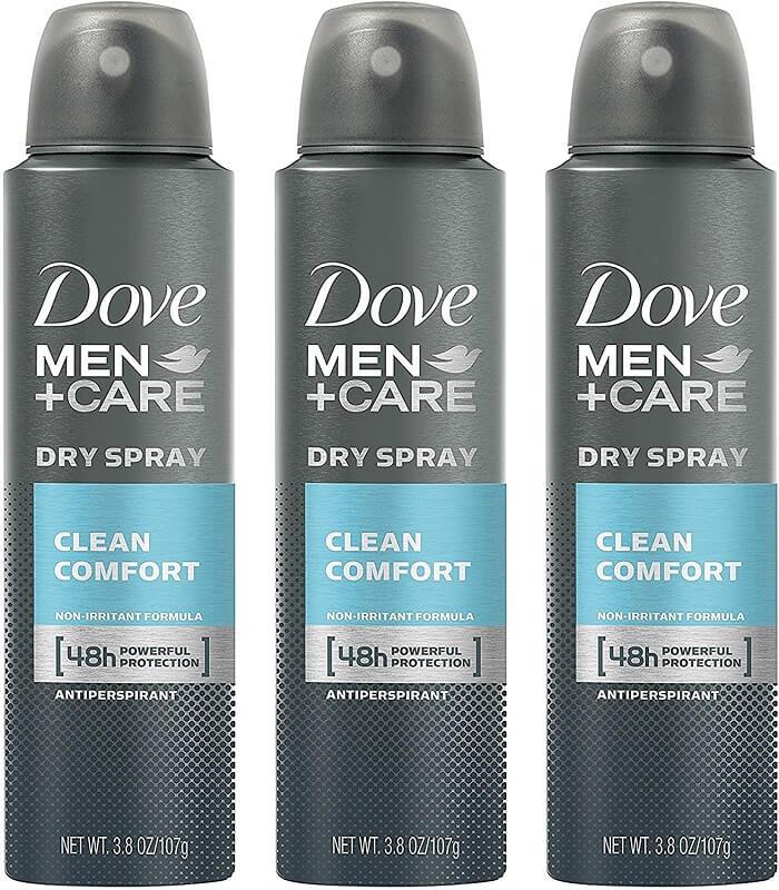 Dove Men + Care Clean Comfort Spray