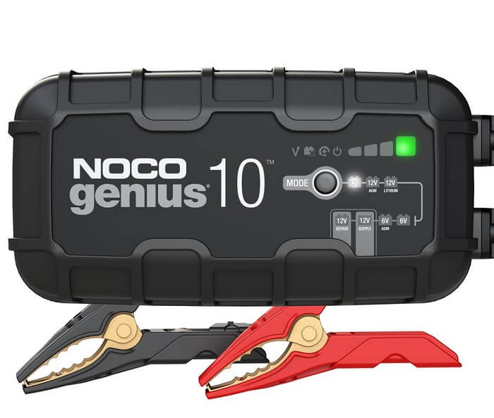 NOCO GENIUS10 10-Amp Fully-Automatic Smart Charger