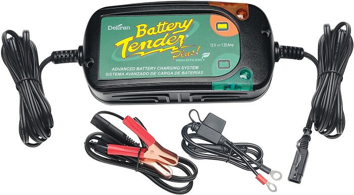 Battery Tender Plus 12V 1.25A Battery Charger