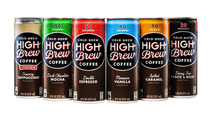 High Brew Cold Brew Coffee